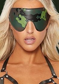 Eye-Mask - Army Theme - Green