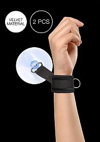 Velvet & Velcro Adjustable Handcuffs Suction Cup