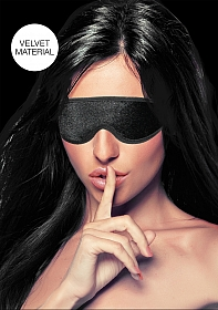 Velvet & Velcro Adjustable Eye Mask