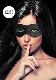 Velvet & Velcro Adjustable Open Eye Mask
