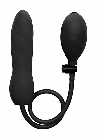 Inflatable Silicone Twist - Black