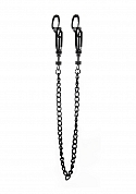 Helix Nipple Clamps - Black