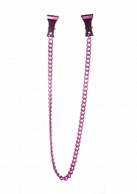 Pinch Nipple Clamps - Pink