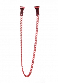 Pinch Nipple Clamps - Red