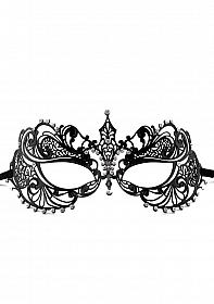Phantom Masquerade Mask - Black