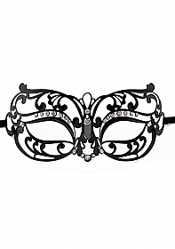 Tribal Masquerade Mask - Black