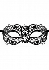 Angel Masquerade Mask - Black
