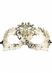 Forrest Queen Masquerade Mask - Gold