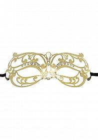Tribal Masquerade Mask - Gold