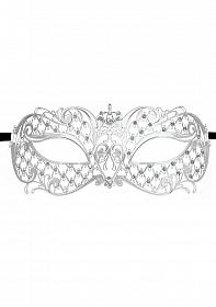 Angel Masquerade Mask - Silver