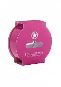Non Sticky Bondage Tape - 17,5 Meter - Pink