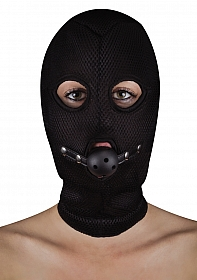 Extreme Mesh Balaclavea with Open Ball Gag