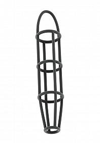 No.30 - Cockcage with ball strap - Grey