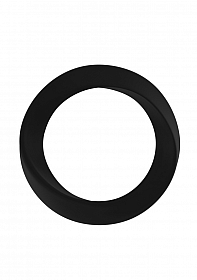 Infinity - Thin - Large Cockring - Black
