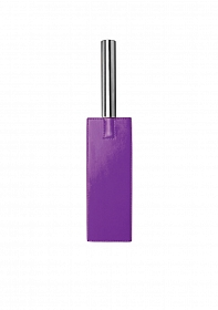 Leather Paddle - Purple