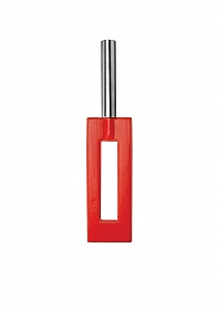Leather Gap Paddle - Red