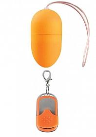10 Speed Remote Vibrating Egg - Medium - Orange