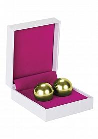 Ben Wa Balls - Heavy Weight - Gold