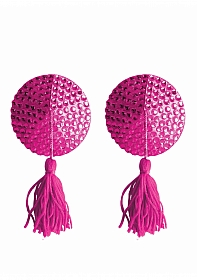 Nipple Tassels - Round - Pink