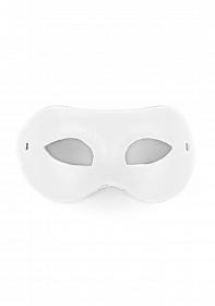 Eye Mask - PVC/Imitation Leather - White