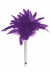 Feather Tickler - Purple
