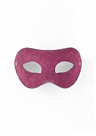 Eye Mask - Suede - Purple