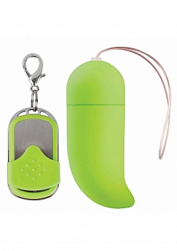 10 Speed Remote Vibrating G-Spot Egg - Green