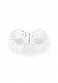 Diamond Moulded Mask - White