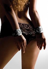 Leather Cuffs - White