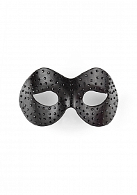 Diamond Moulded Mask - Black