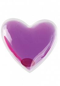 Hot Heart Massager - Purple