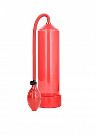 Classic Penis Pump - Red