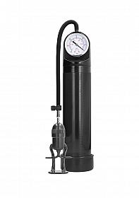 Deluxe  Pump With Advanced PSI Gauge - Black