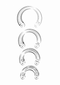 Mancage Spare Ring Set - Transparent
