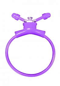 Adjustable Cockring - Purple
