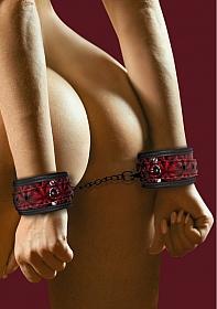 Luxury Hand Cuffs - Burgundy