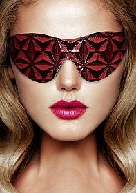 Luxury Eye Mask - Burgundy
